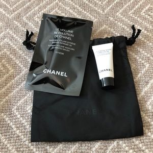 Chanel 2 Samples pouch luxury samples mascara